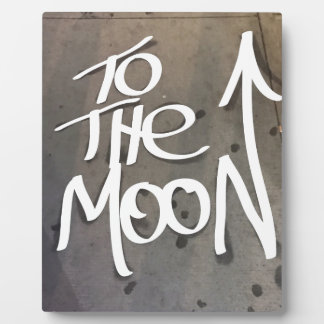 To the Moon Plaque