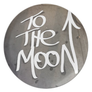 To the Moon Plate