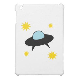 To the Moon Retro UFO iPad Mini Cases