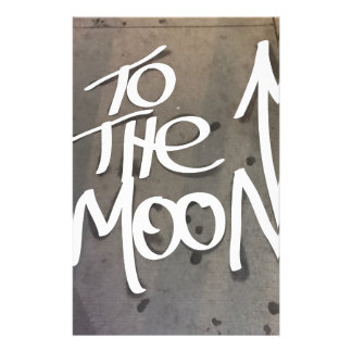 To the Moon Stationery