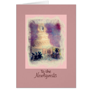 To the, Newlyweds Greeting Card