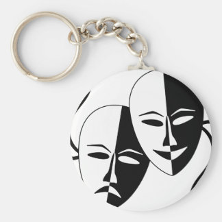 To the Theatre! Key Ring