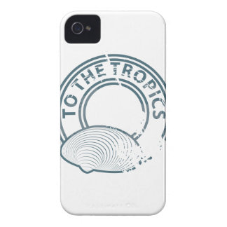 To the Tropics rubber stamp iPhone 4 Case