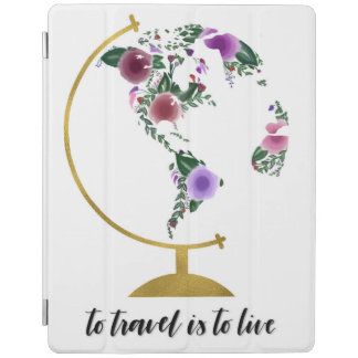 To travel is to live iPad cover