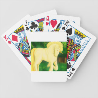 to war unicorn bicycle playing cards