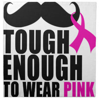 To wear Pink for cancer awareness Napkin