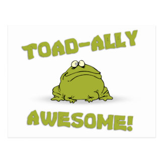 Toad-ally Awesome Postcard