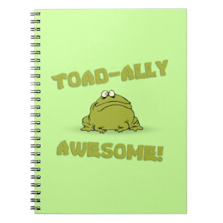 Toad-Ally Awesome Spiral Note Book