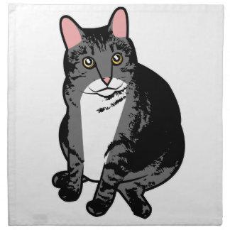Toad Cat Printed Napkin