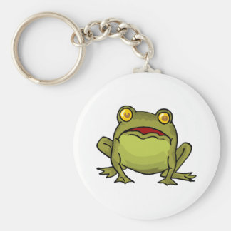Toad Stare Key Ring