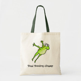 Toad Tossing Champ Tote Bag
