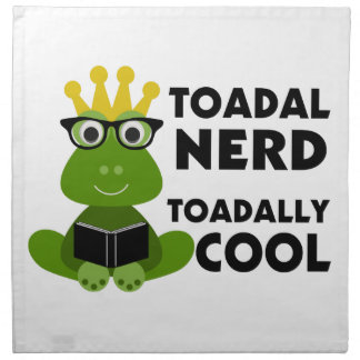 Toadal Nerd Toadally Cool Napkins
