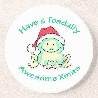 TOADALLY AWESOME BEVERAGE COASTERS