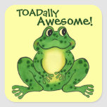 Toadally Awesome - Funny Frog Sticker