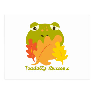 Toadally Awesome Postcard