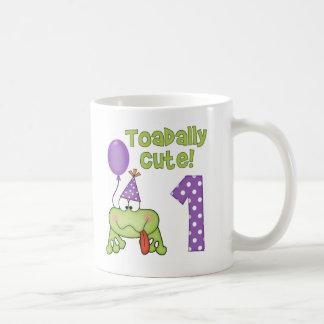 Toadally Cute 1st Birthday Mug