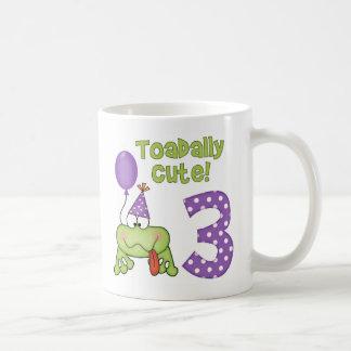 Toadally Cute 3rd Birthday Mug
