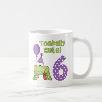 Toadally Cute 6th Birthday Mug