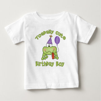 Toadally Cute Birthday Boy Baby T-Shirt