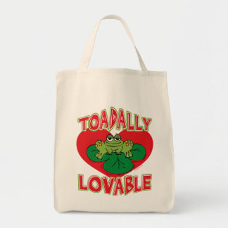 Toadally Lovable Tote Bags