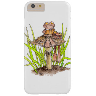 Toads Sharing A Book Iphone Case