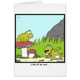 Toadstool Card