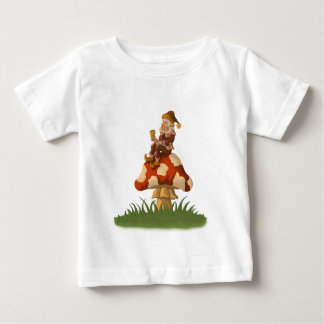 toadstool gnome infant t-shirt