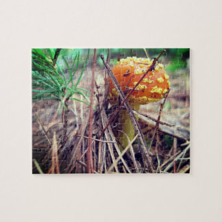 Toadstool Hiker's Relaxing Self-Care Jigsaw Puzzle