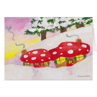 Toadstool miss you card