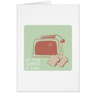 Toast And Toaster Card