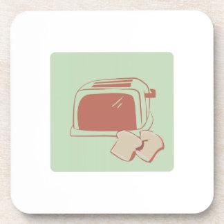 Toast And Toaster Beverage Coaster