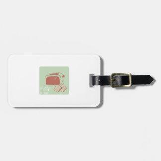 Toast And Toaster Luggage Tag