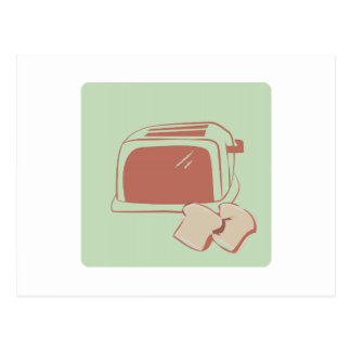 Toast And Toaster Postcards