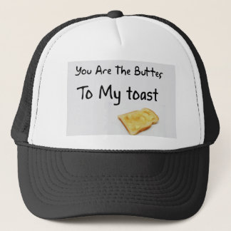 Toast Bread Love Words Trucker Hat