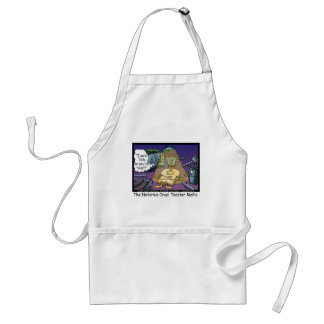Toast Mafia Funny Offbeat Cartoon Gifts & Tees Adult Apron