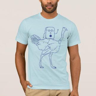 Toast riding an ostrich T-Shirt