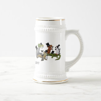 Toast the New Year Beer Stein