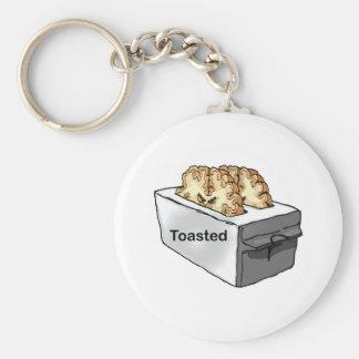 Toasted Key Ring