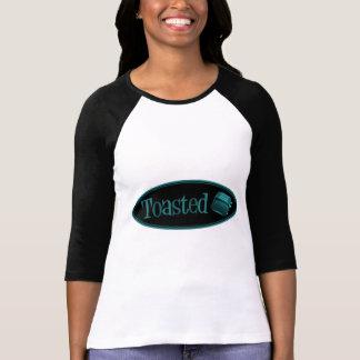 TOASTED Retro Toaster - Black & Turquoise T Shirts