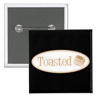 TOASTED Retro Toaster - Light Orange Pins