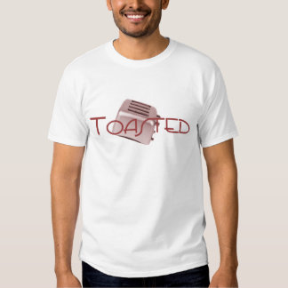 Toasted - Retro Toaster - Red Shirts