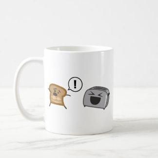 Toasted Toast Tanlines Coffee Mug