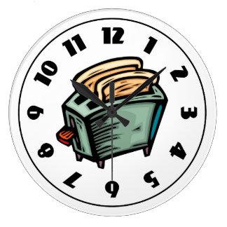 Toaster Clock