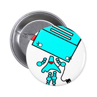 Toaster girl button