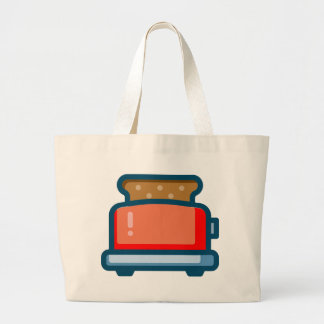 Toaster Large Tote Bag