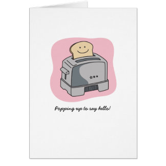 Toaster Love Greeting Card