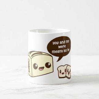 Toaster Luv Basic White Mug