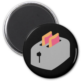 Toaster Pastries 6 Cm Round Magnet