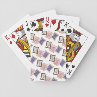 Toaster Pastries Breakfast Pastry Junk Food Foodie Playing Cards