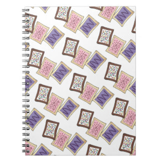 Toaster Pastry Breakfast Food Frosted Pastries Notebook